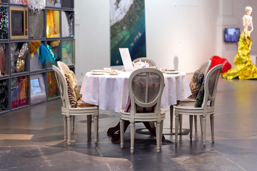 Andrea Iten, à table