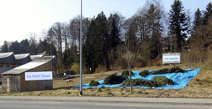 La forêt bleue est morte