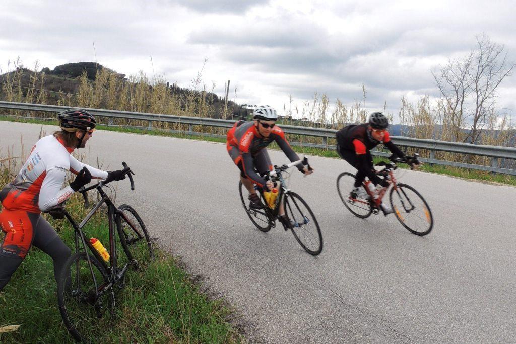 Rennrad Fahrtechnikkurs bei outside1st