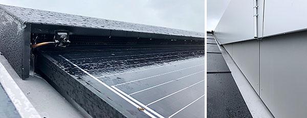 Anwendungsbeispiel SolarStand Indachsystem ST.I.33