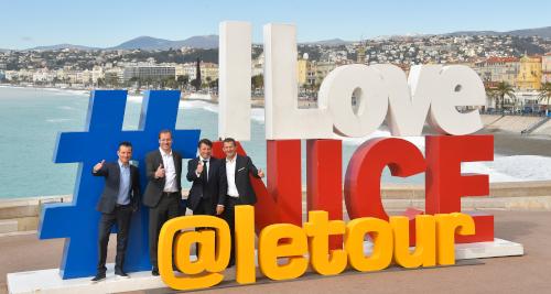 Fotos Pressekonferenz Grand Départ Nizza 2020