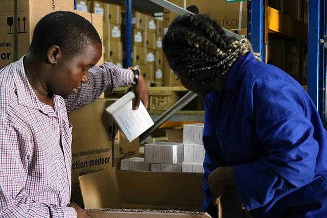 Nothilfe für Idai von der action medeor Niederlassung in Malawi