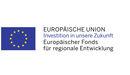 Europäische Union - Investition in unsere Zukunft - Europäischer Fonds für regionale Entwicklung
