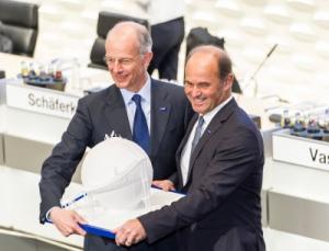 Vorstandswechsel bei BASF: Bock übergibt an Brudermüller, Bild: BASF