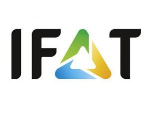 Logo IFAT, Bild: Messe München