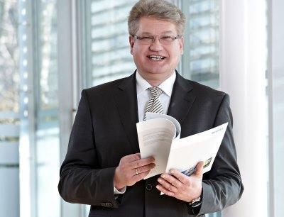 Michael Groth, Head of Global Business Field Environmental & Energy, Photo: Netzsch