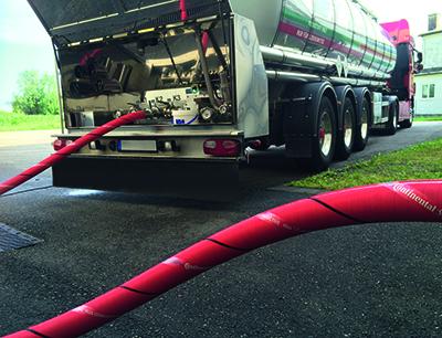 Hier erfahrenSie, wie die Purpurschlange Plus Conductive von Continental für mehr Sicherheit in Brennereien sorgt