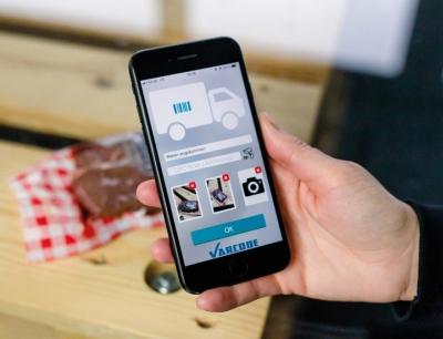 Direkte Datenübermittlung auf das Smartphone per Freshcode-App, Bild: Ecocool