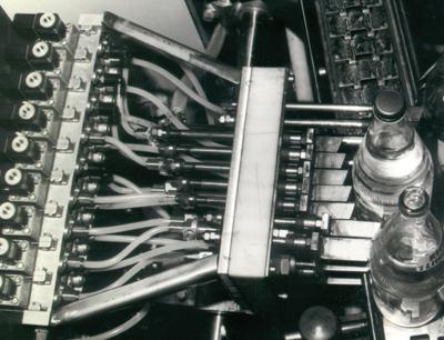 Fehlerausleitung mit der ersten HEUFT DELTA-FW von 1979, Bild: HEUFT SYSTEMTECHNIK GmbH