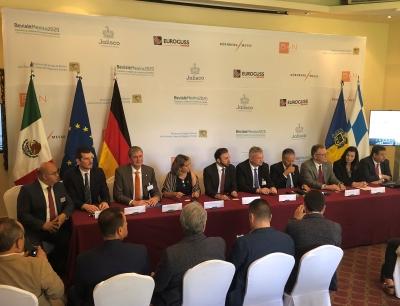 Pressekonferenz der Nürnberg Messe Group zur Ankündigung des Markteintritts in Mexiko, Bild: Nürnberg Messe