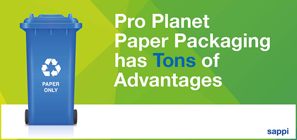 Sappi Pro Planet Paper Packaging