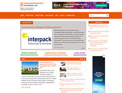 Vorschau auf industrial-production-worldwide.com, Bild: Tropal Media
