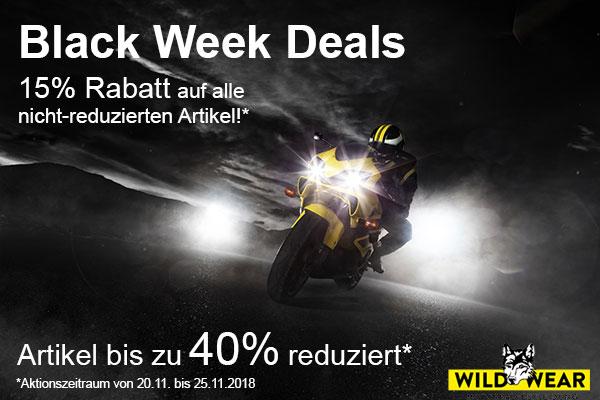 Wild-Wear Motorradbekleidung - Black Week