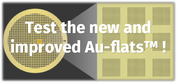 Test the new and improved Au-flats™!