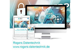 Neue Webseite für Rogers DATENTECHNIK