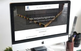 Website mh verpackungsservice