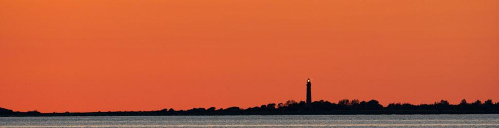 Sonnenuntergang Flügge