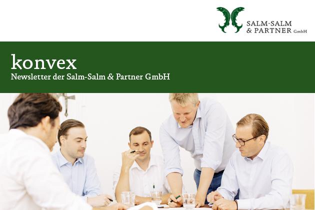 konvex - Newsletter der Salm-Salm & Partner GmbH