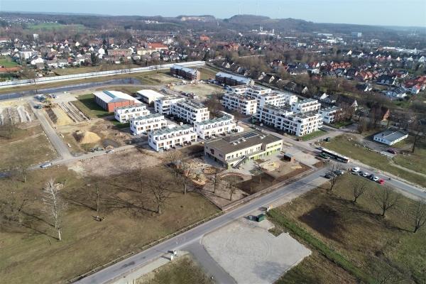 Luftbild Baugebiet Osnabrück
