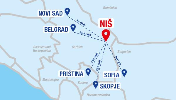 Air Serbia fliegt Salzburg-Nis