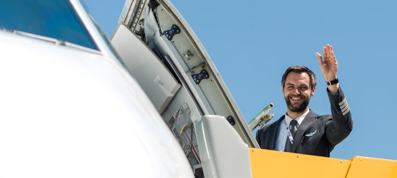 Eurowings Pilot