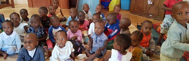 Kinder in unserer Cradle