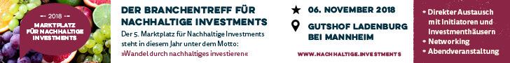 Marktplatz für nachhaltige Investments