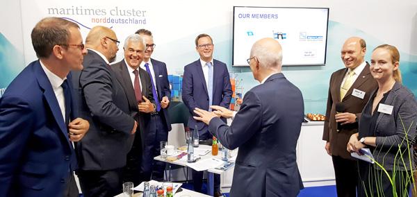 Minister- und Senatorentreffen bei der SMM 2018