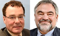 Hanns Christoph Saur und Hans-Georg Tschupke