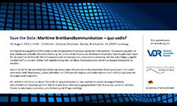Maritime Breitbandkommunikation