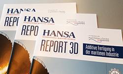 "HANSA-Report ""3D-Druck in der maritimen Industrie"""