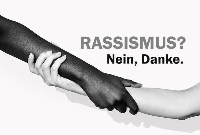 Rassismus? Nein, danke.