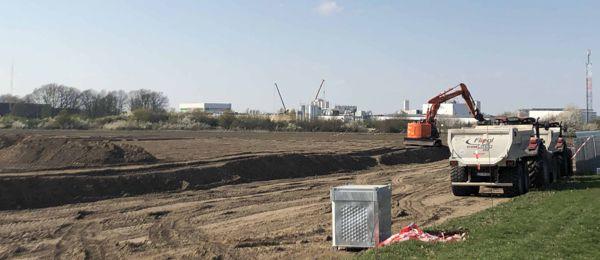 Neues Logistikzentrum entsteht in Bad Fallingbostel