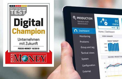 """euromicron als """"Digital Champion"""" 2019"""