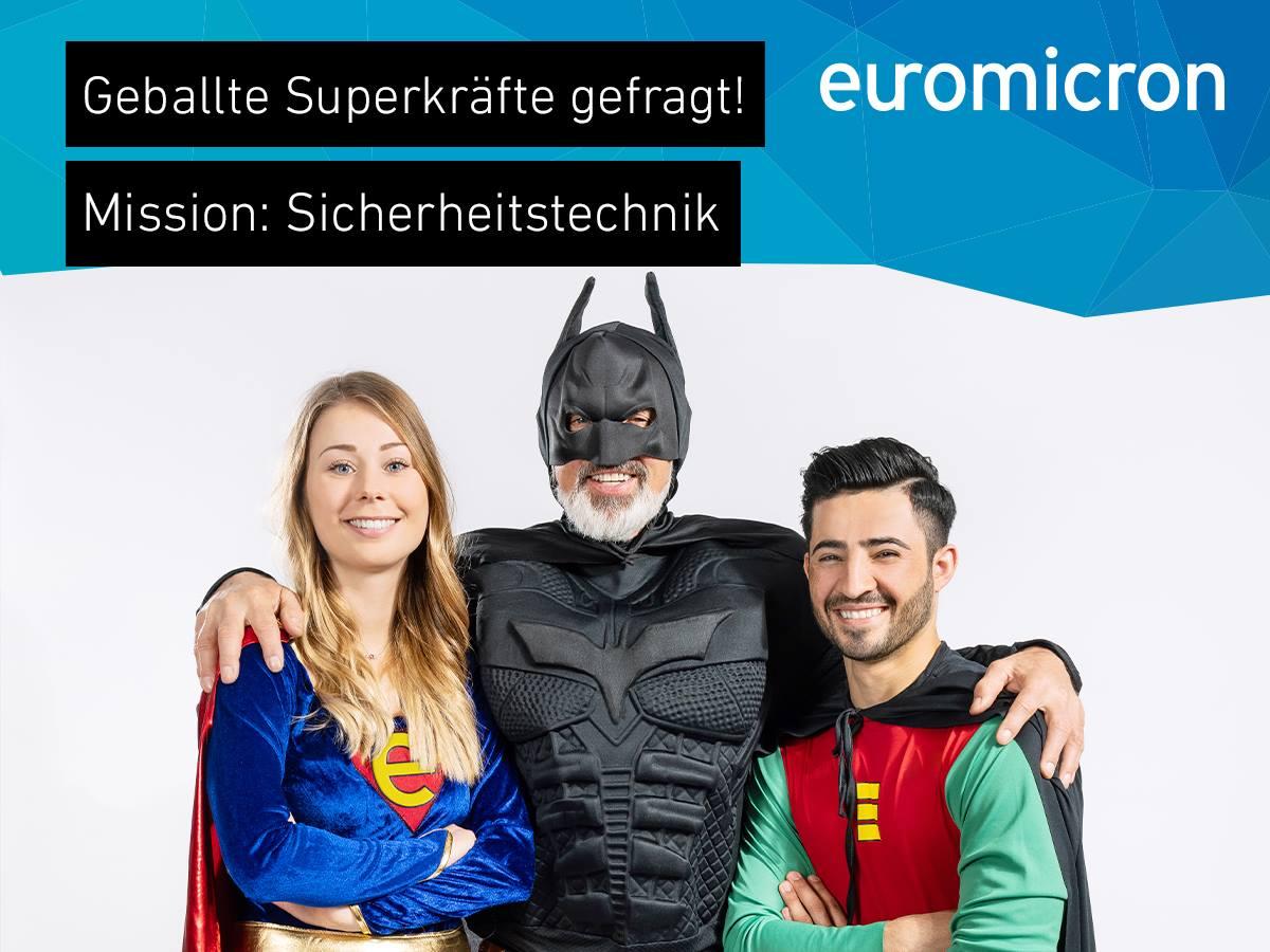 Wir suchen Superhelden