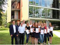 Gewinner-Team des 2. Schwenninger Businessplan-Wettbewerbs