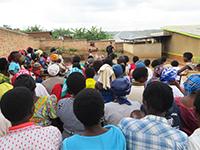 Prof. Sauer in Ruanda
