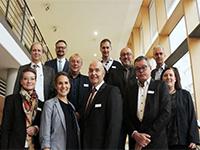 Organisatoren und Referenten des Zukunftforums