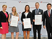 Auszeichnung Beruf und Familie