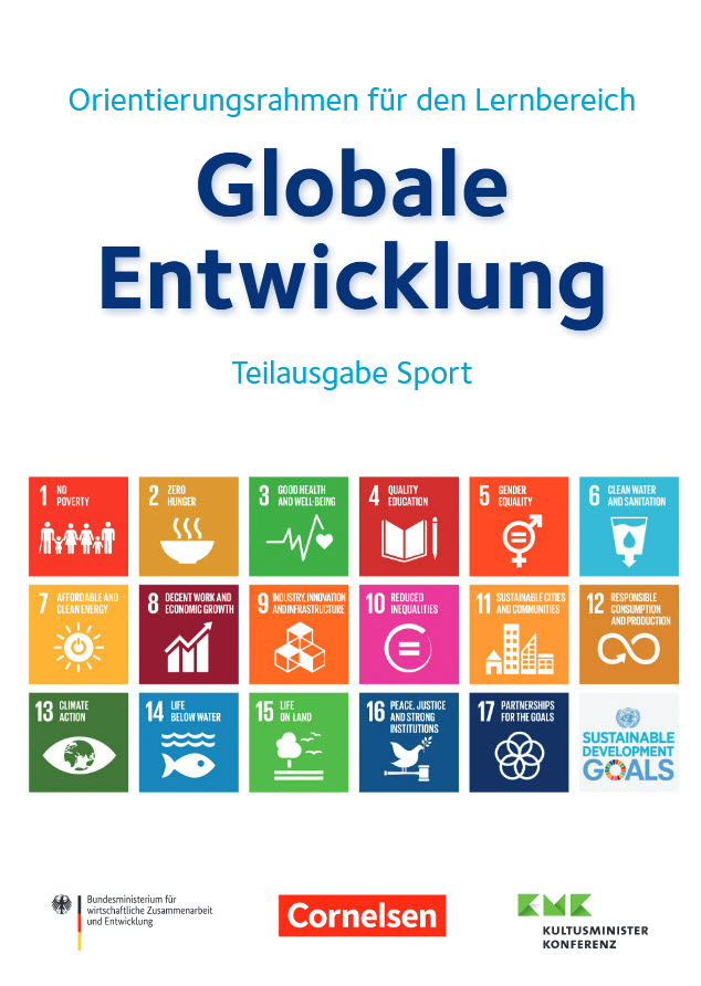 Titelseite der Ausgabe Sport. Quelle: engagement-global.de