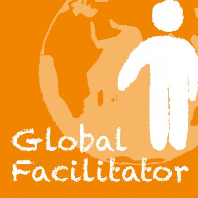 "Logo zum ""Global Facilitator – Qualifizierungskurs"". Quelle: epiz.de"