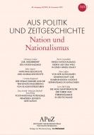 Titelseite APUZ Nation und Nationalismus. Quelle: bpb.de