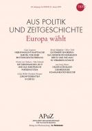 Titelseite APUZ Europa wählt. Quelle: bpb.de