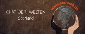 Banner Chat der Welten Saarland. Quelle: nes-web.de