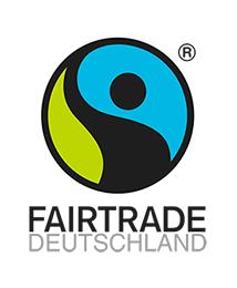 Logo Fairtrade. Quelle: fairtrade-deutschland.de