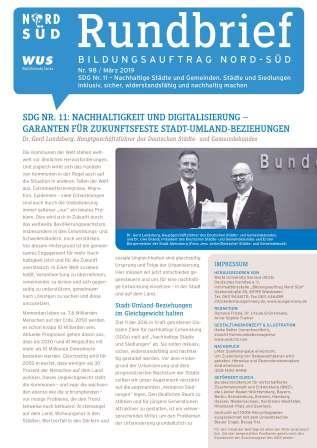 Titelblatt Rundbrief Bildungsauftrag Nord-Süd März 2019