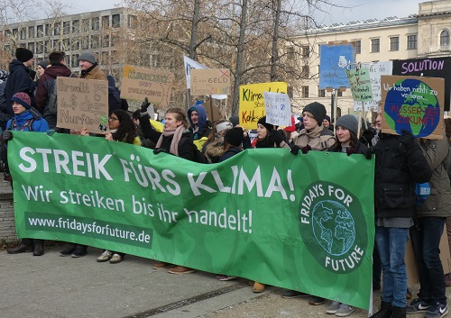 Fridays for Future Demonstration am 25.01.2019 in Berlin. Quelle: wikipedia.org