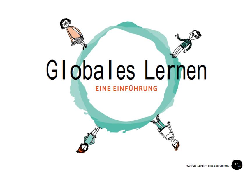 """Deckblatt Broschüre """"Globales Lernen. Eine Einführung"""". Quelle: www.bei-sh.org"""