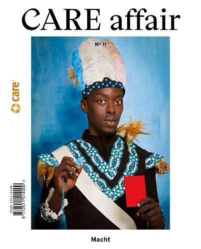 Cover CARE affair Macht. Quelle: care.de