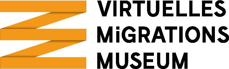 Logo Virtuelles Migrationsmuseum. Quelle: twitter.com